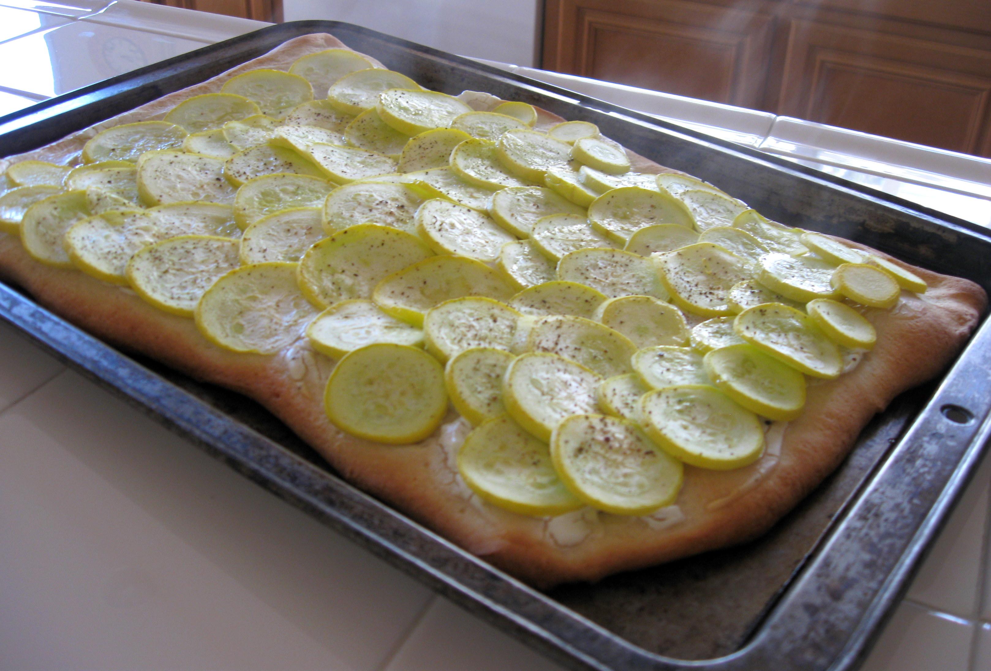 Zuchinni Pizza Smitten Kitchen